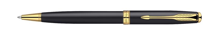 Parker Sonnet Matte Black GT, kuličkové pero