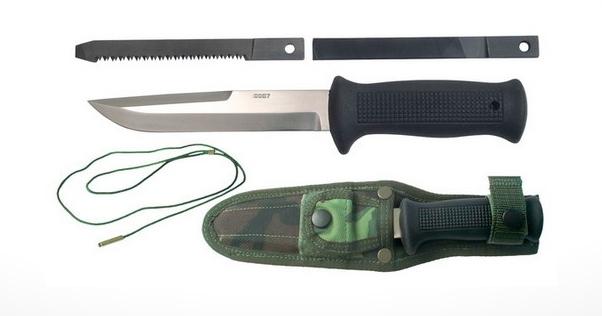 Mikov UTON - armádní nůž - pouzdro pro modulární nosný systém - 392-NG-4 VZOR 75