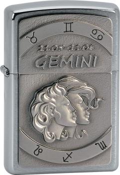 Zippo zapalovač 21608 Gemini Emblem