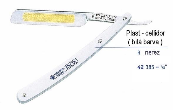 Břitva DOVO Solingen - 42 385 R - černá barva