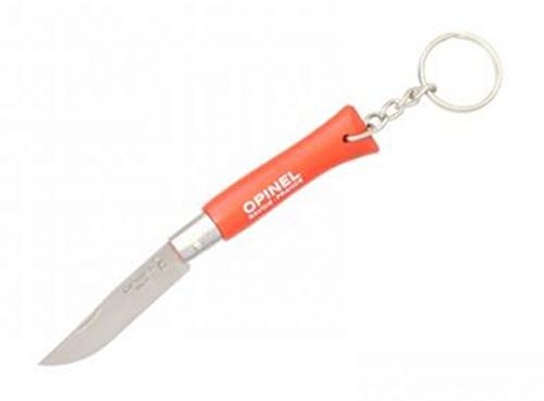 Přívěšek nůž Opinel VRI 4 červený
