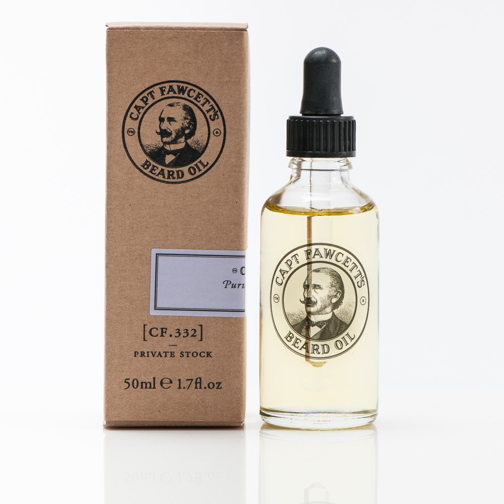 Captain Fawcett Private Stock, olej na vousy 50 ml