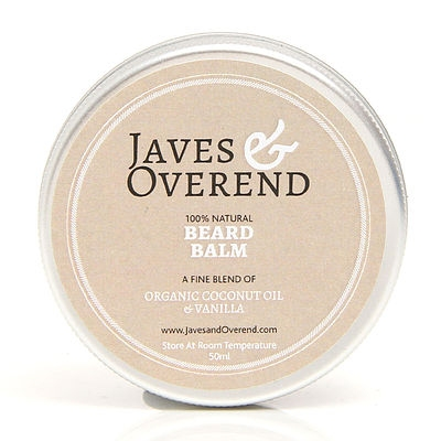 Javes & Overend Coconut, balzám na vousy 50 ml
