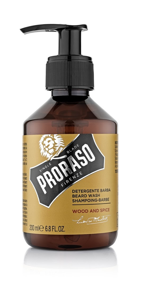 Proraso Wood and Spice šampon na vousy 200 ml