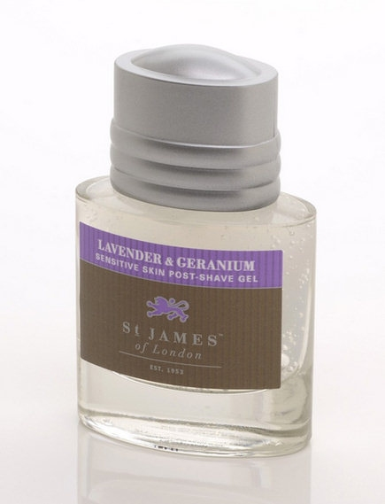 St James of London Lavender & Geranium, gel po holení