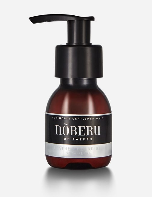 Noberu Amber-Lime Feather olej na vousy 60 ml