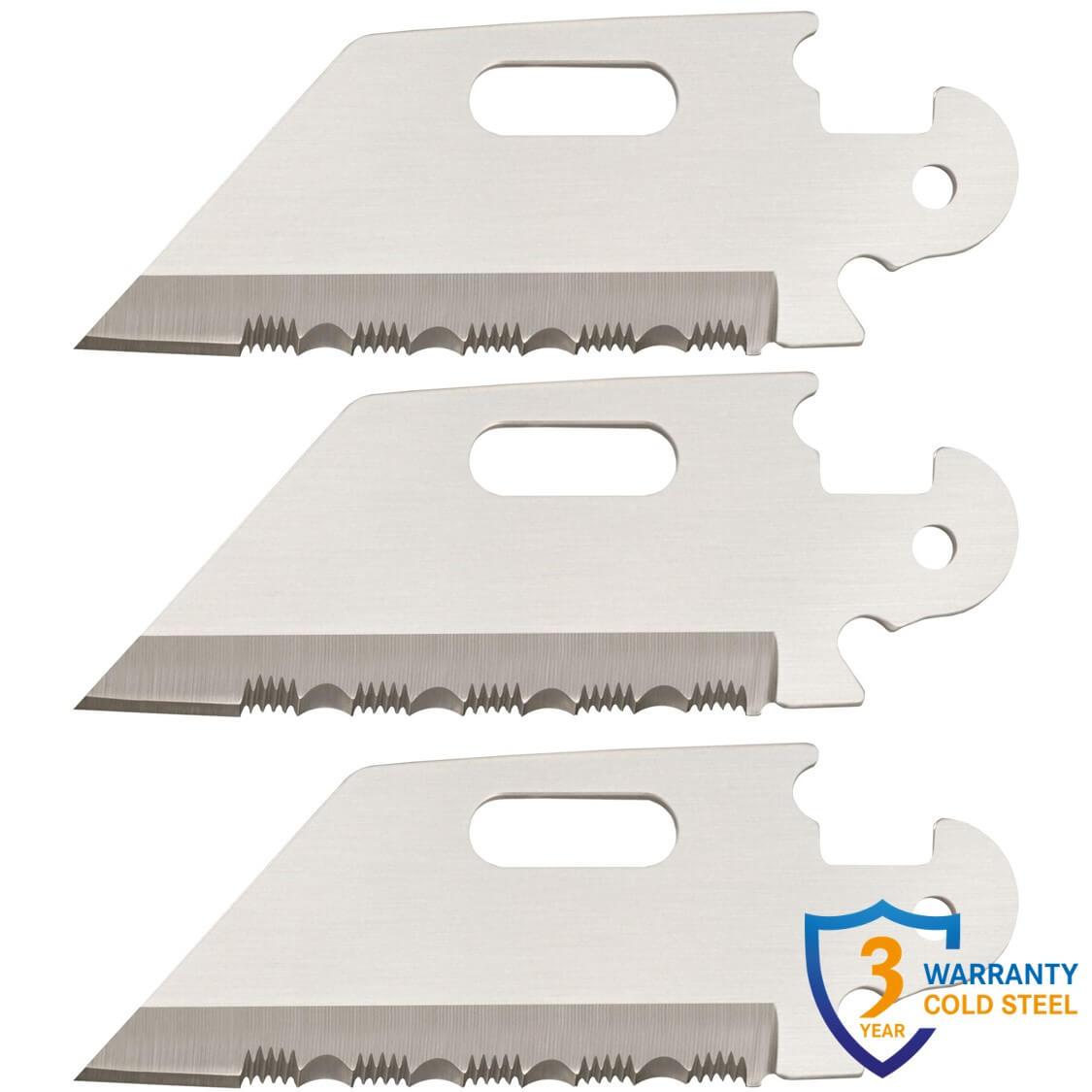 Click N Cut (3 pack of Utility Serrated Edge Blades)